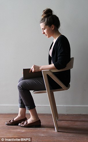 Would you sit on this chair to live longer?