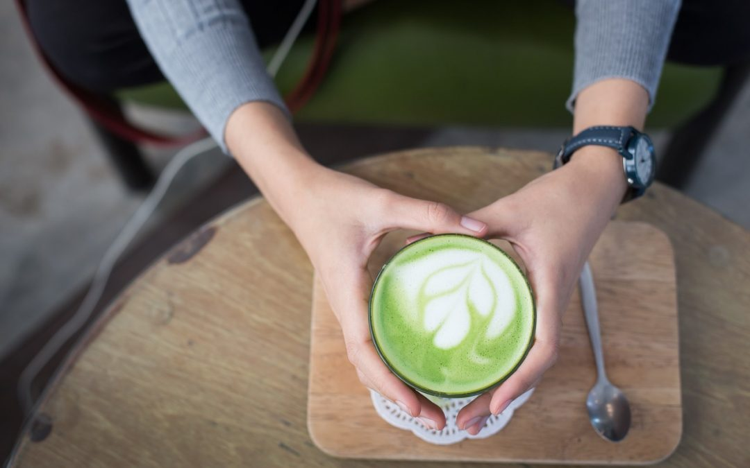 Recipe (naturally sweetened): Sweet Enough Matcha Latte