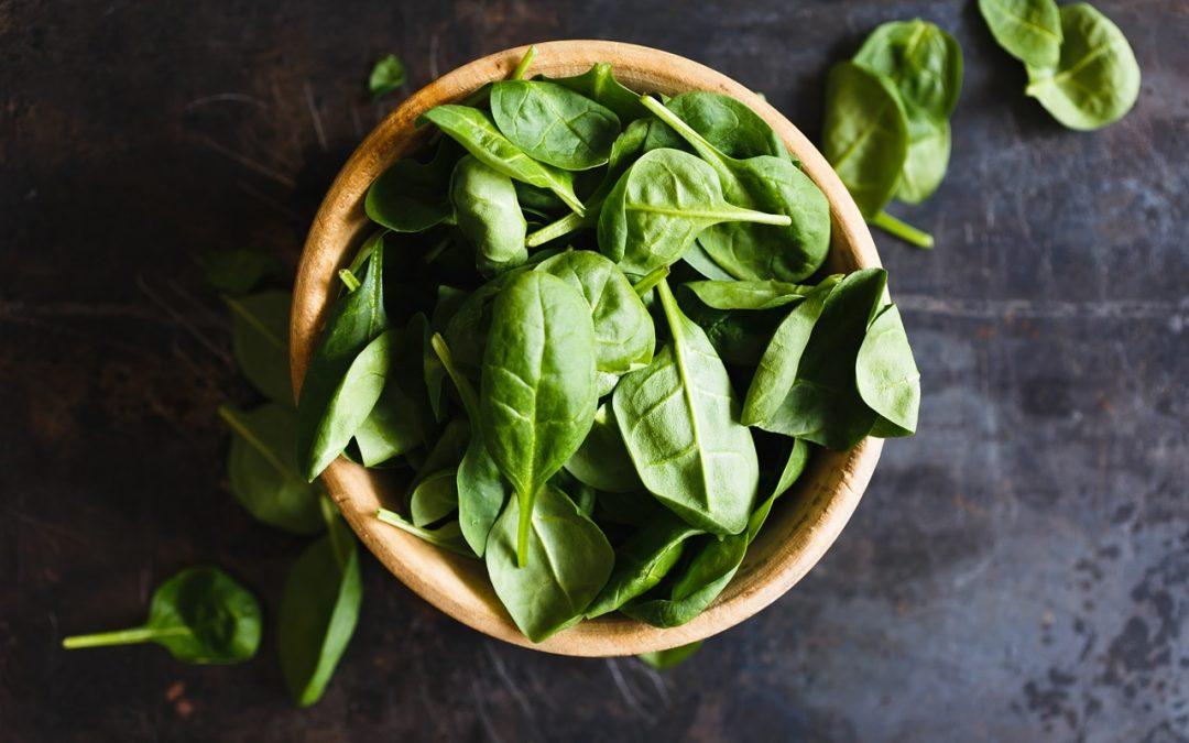 Recipe (cooked spinach): Sauteed Spinach
