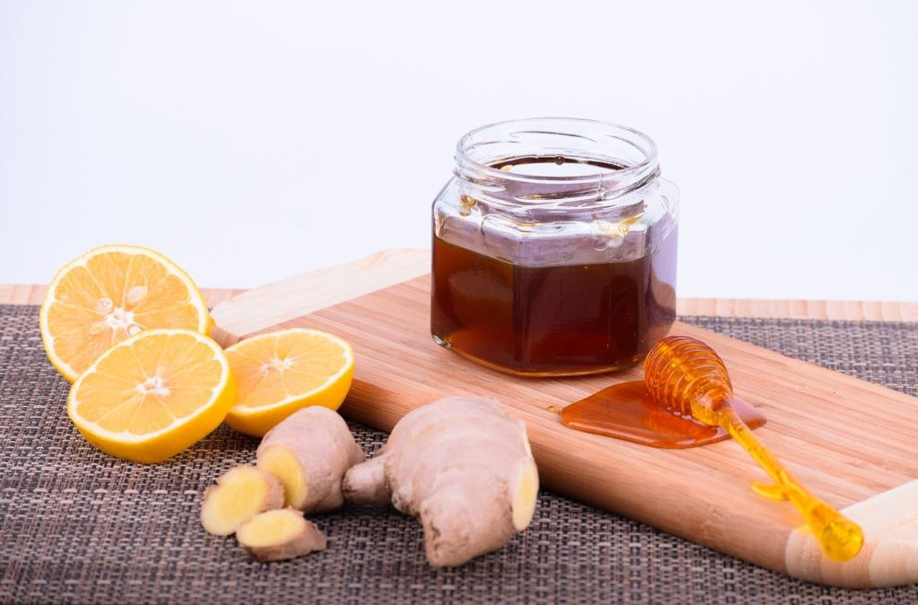 Recipe (Throat soothing): Honey Lemon Ginger Cough Drops