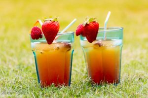 "Strawberry Orange ""Mocktail"""