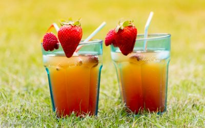"Strawberry Orange ""Mocktail"""