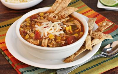 Slow Cooker – Tortilla Soup